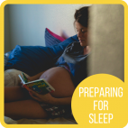 Preparing for sleep