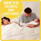 Where to go for gentle baby sleep advice